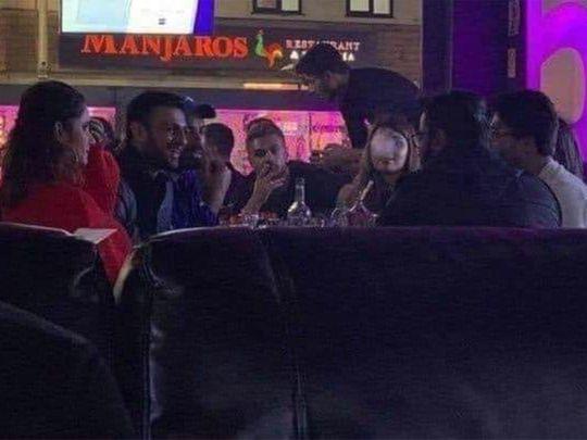Video of Shoaib Malik,Sania Mirza at shisha bar goes viral