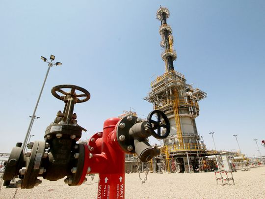 A view of the West Qurna-1 oilfield