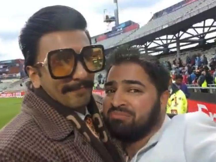 Ranveer Singh comforts fan