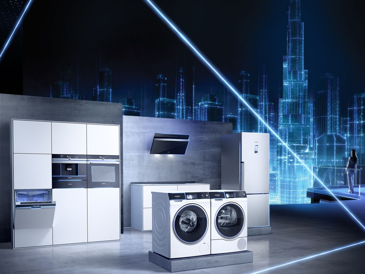 Home appliances connected to Siemens Home Connect allows you to