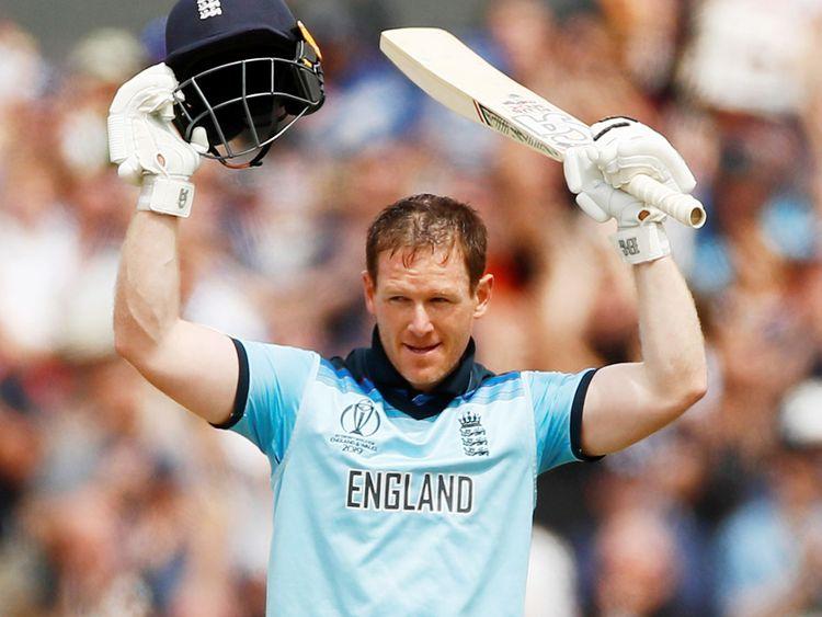 England's captain Eoin Morgan