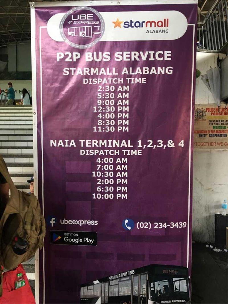 P2p bus Manila