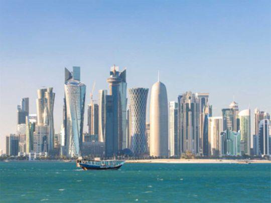 190620 doha skyline