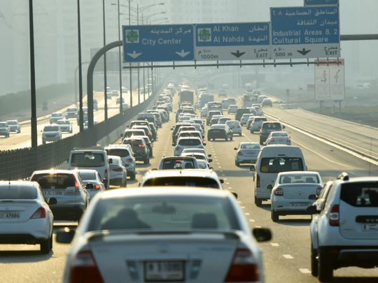 Commuters face delays on Sharjah's Ring Road | Transport