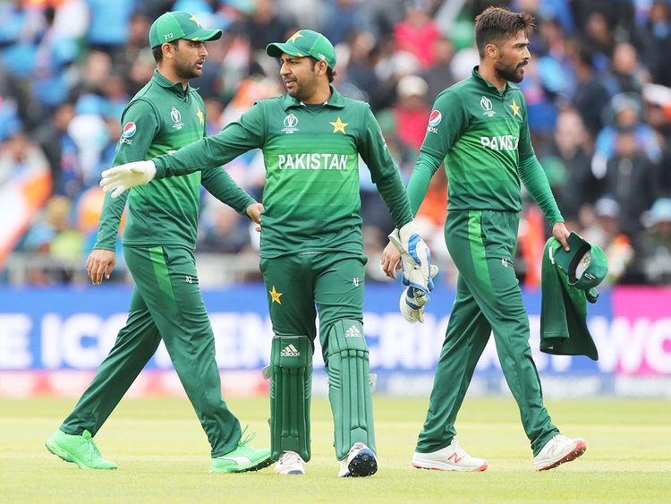 Pakistan's captain Sarfaraz Ahmad