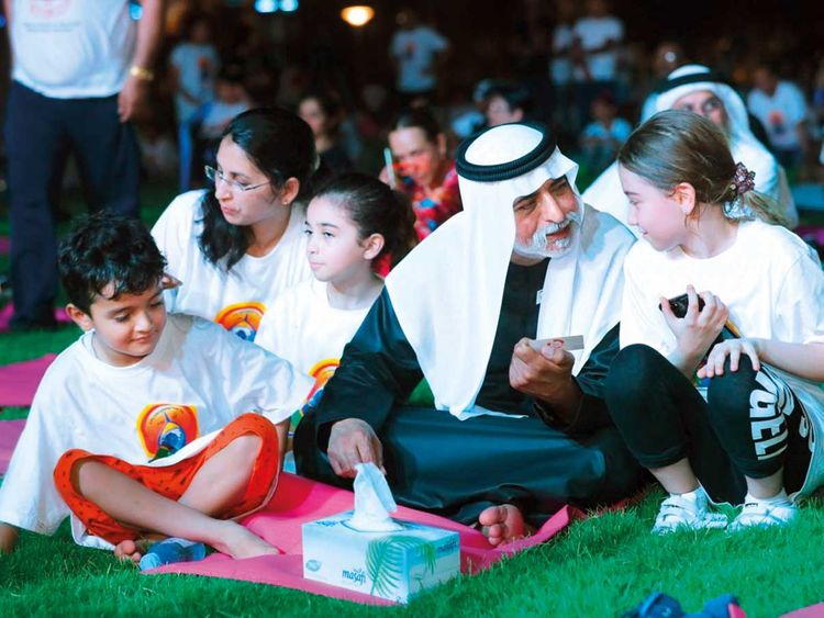 Thousands gather in Abu Dhabi to mark International Day of Yoga