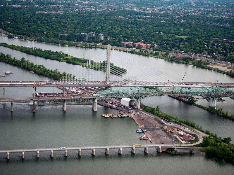 Champlain Bridge in Montreal