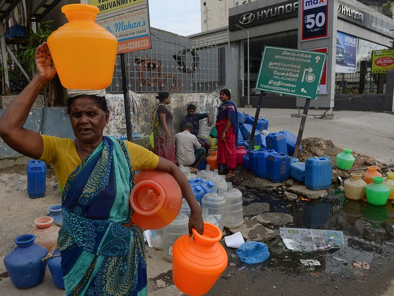 Chennai water shortage