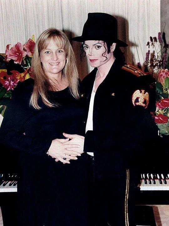 Debbie Rowe and MJ