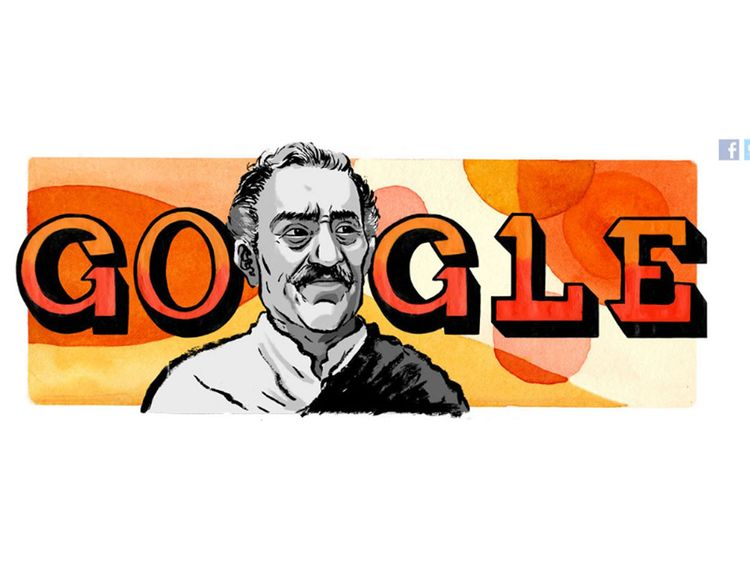 Google doogle Amrish Puri