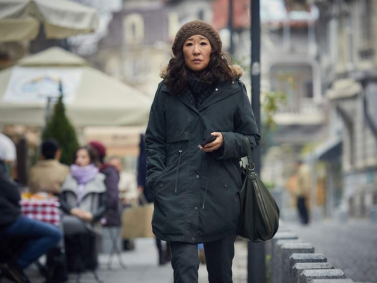 Sandra Oh in Killing Eve-1561189162704