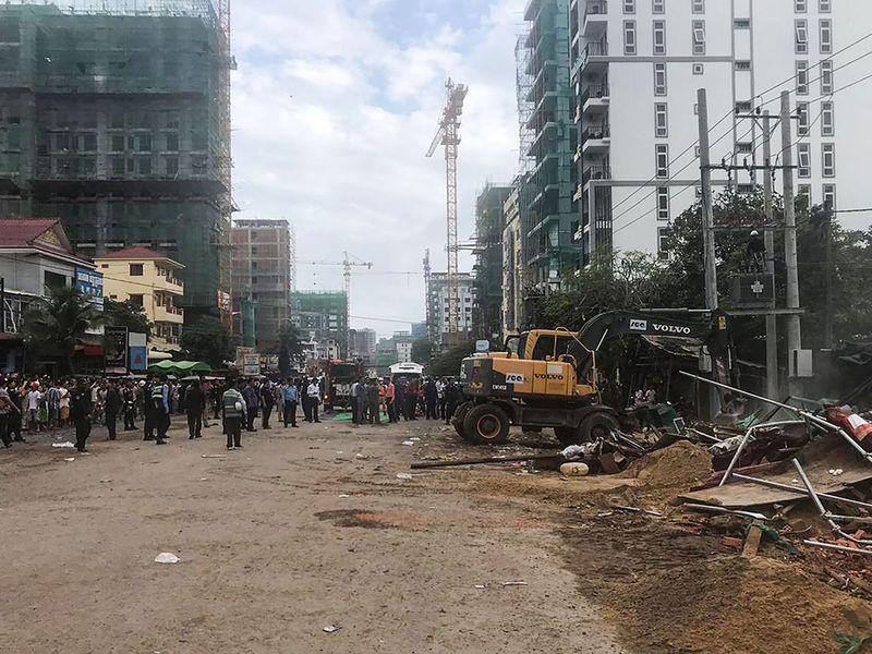 Sihanoukville, combodia, building collapse