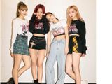 BlackPink L to R -Lisa, Jisoo, Jennie, and Rosé.-1561283796861