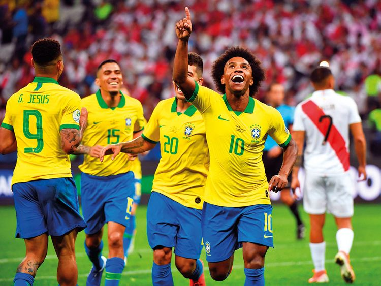 best supplier multiple colors fantastic savings Copa America: Goalkeeper gaffe helps Brazil trounce Peru to ...