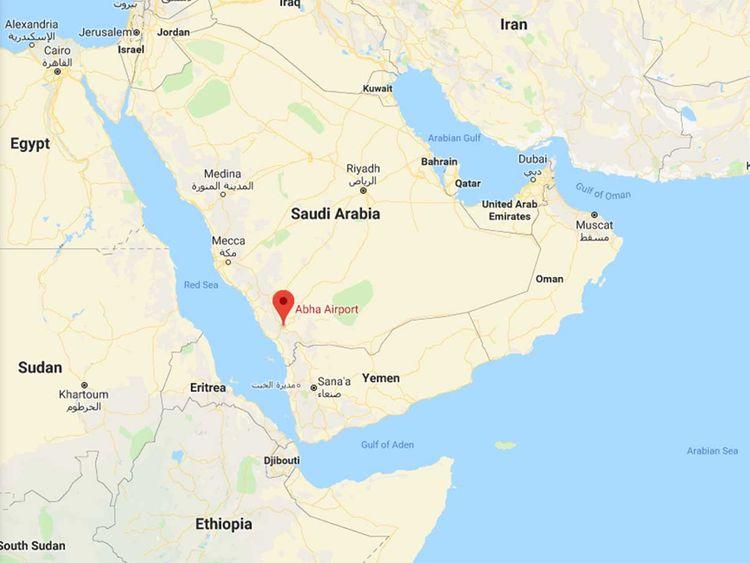 Suspected drone attack on Saudi Arabia 01