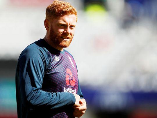 England's Jonny Bairstow