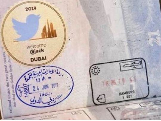 Look: Dubai Customs issues special Twitter sticker