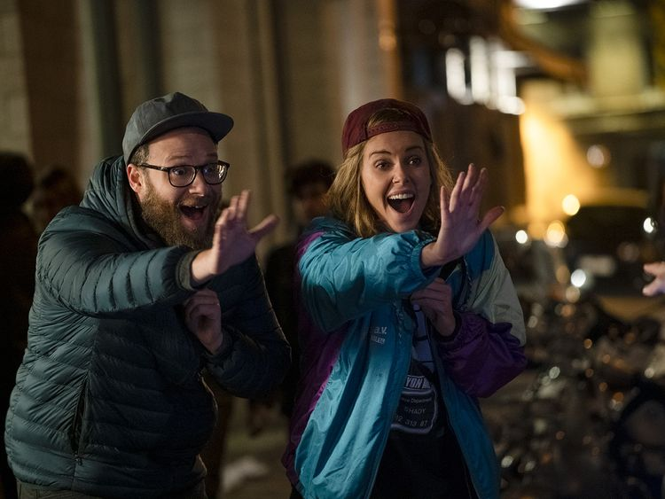 Charlize Theron and Seth Rogen in Long Shot-1561450864701