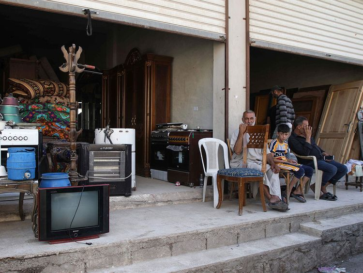 Made Homeless By War Syrians Sell Furniture To Survive