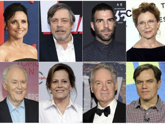 John Lithgow, Annette Bening and more stars perform Mueller report