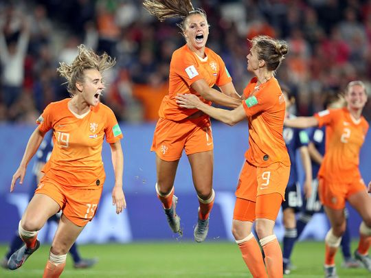 Women's World Cup: Netherlands, Italy through to quarter-finals