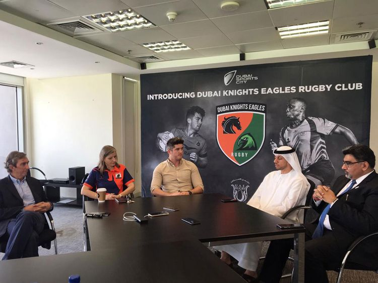 Rugby Dubai Knights Eagles