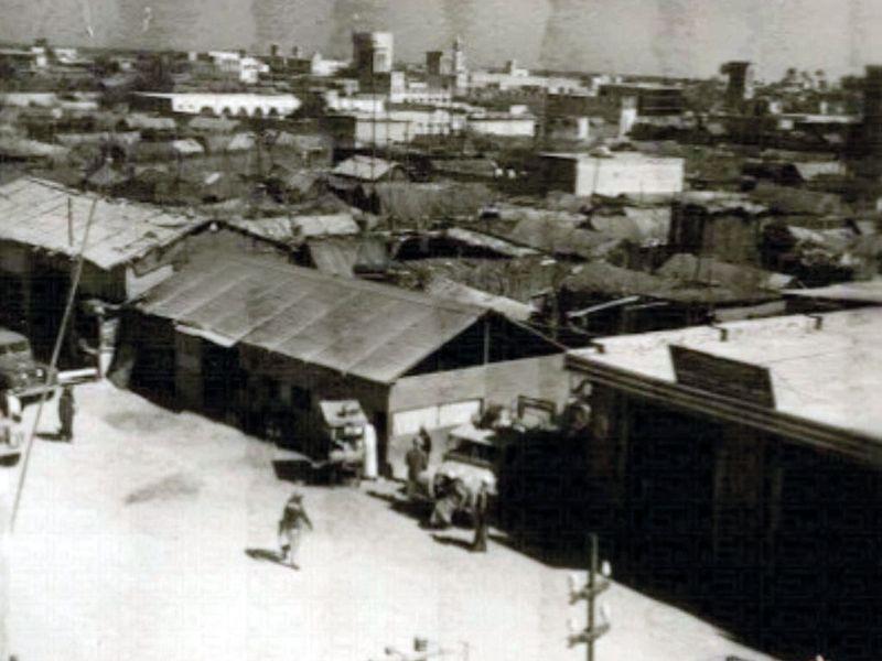 Abu Dhabi in 1958.