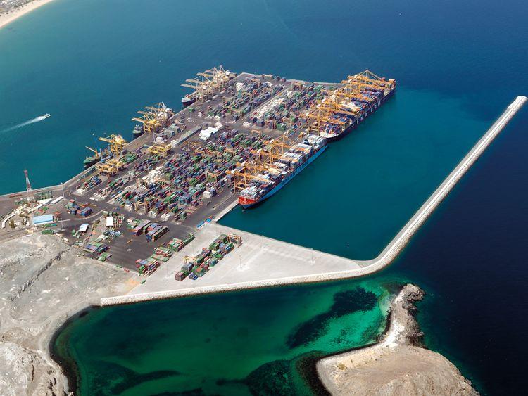 Maritime_Khorfakkan Gulftainer