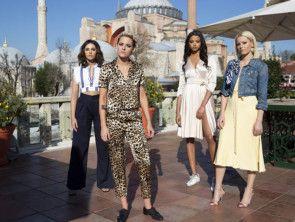 Elizabeth Banks, Kristen Stewart, Naomi Scott, and Ella Balinska in Charlie's Angels [NEW]-1561706300852