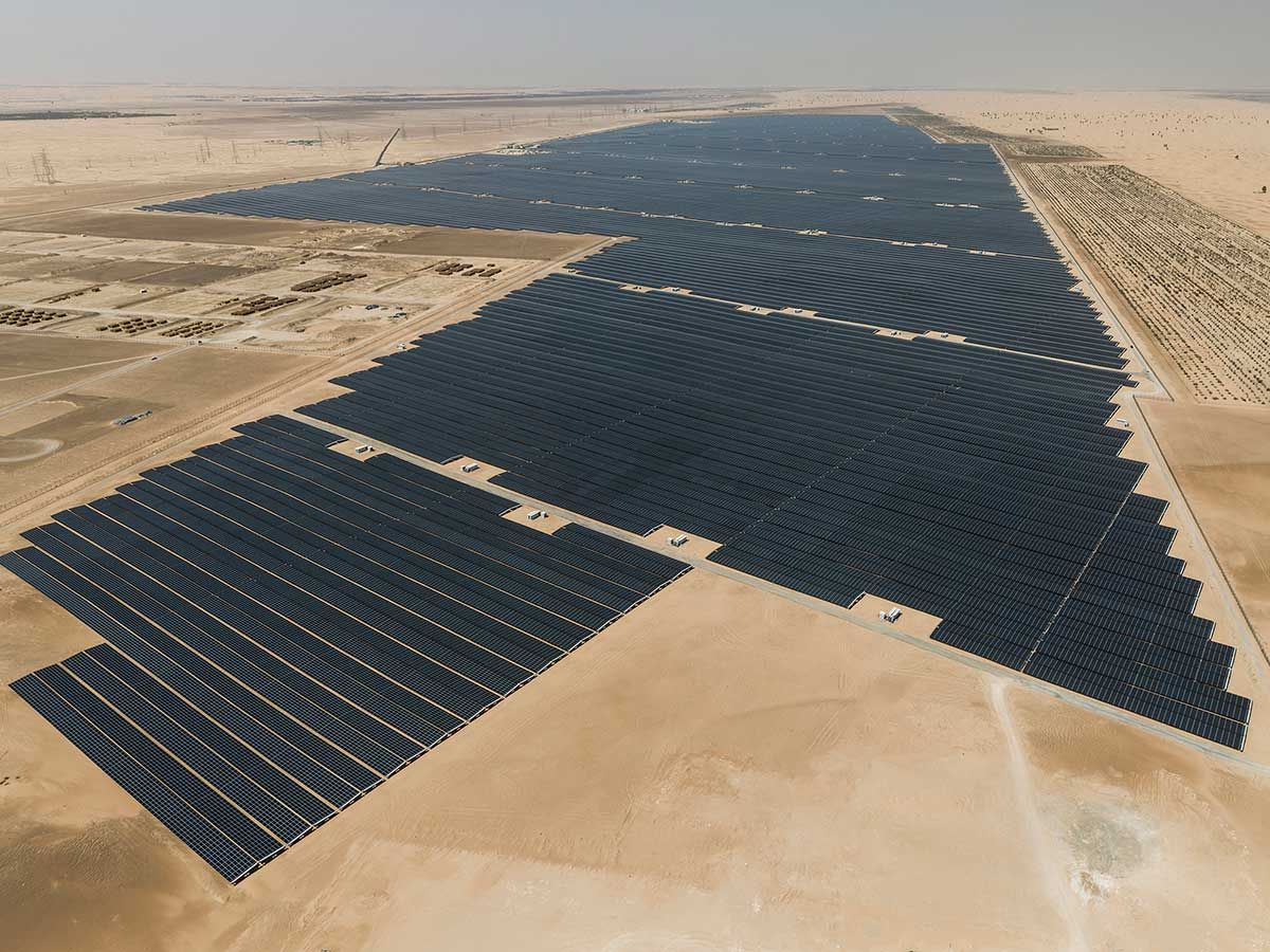 The Dh3.2-billion Noor Abu Dhabi solar plant 01
