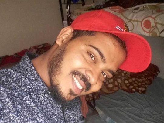 A selfie taken by Rajesh on Saturday.