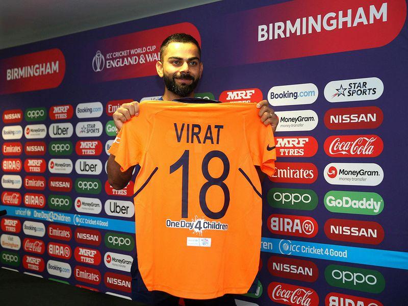 britiain cwc cricket 69581 jpg 8e62e read only india s virat kohli holds up the new india shirt