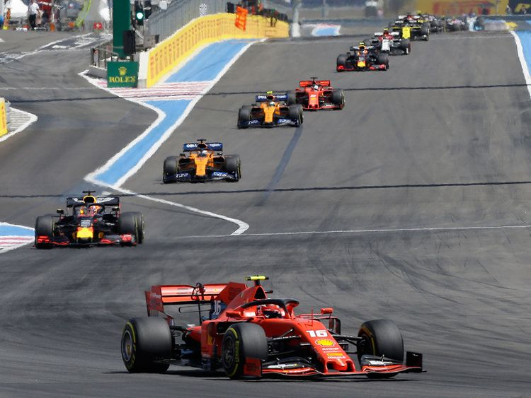 F1: Charles Leclerc romps to Austria Grand Prix pole