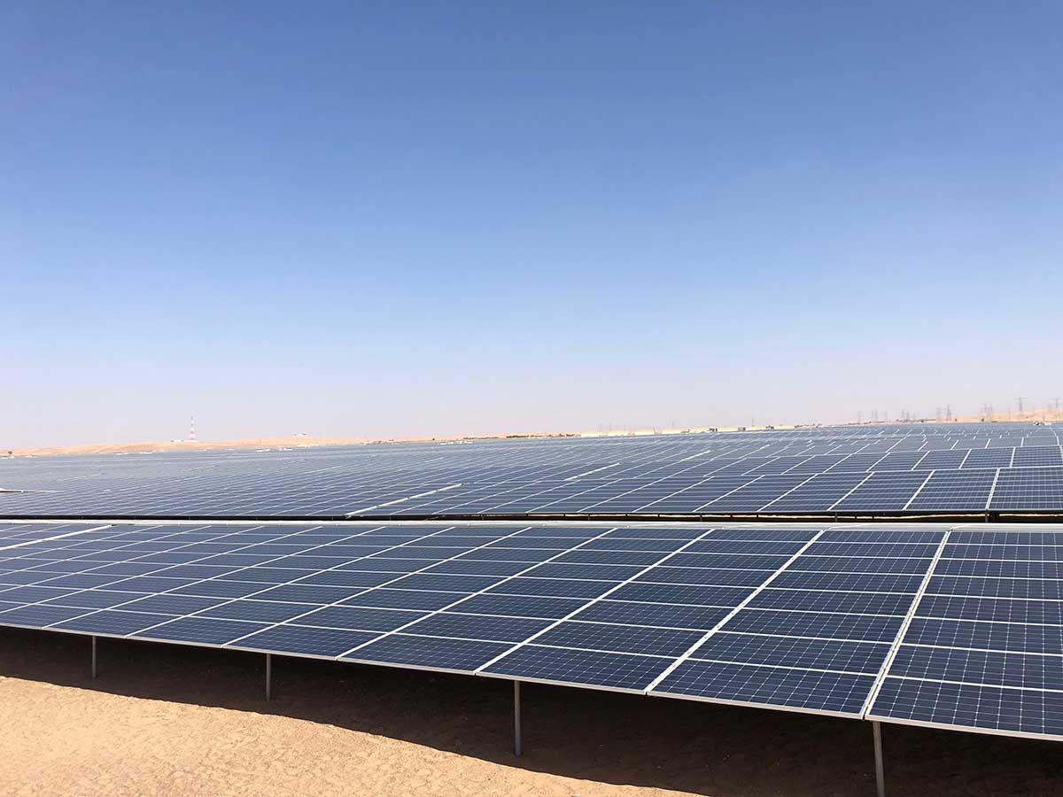 Noor Abu Dhabi will further contribute to the UAE renewable sector 0111