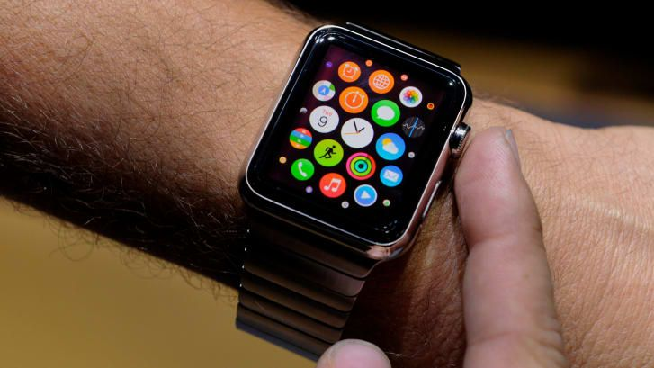 The Apple Watch, released in 2015-0111
