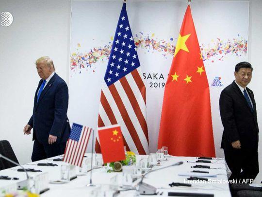 Trump Xi negotiations