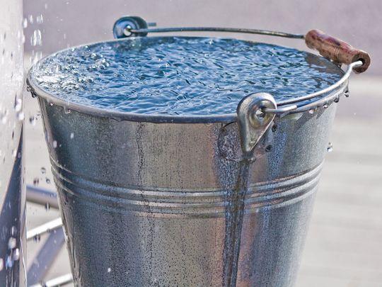 shutterstock_36075736 bucket of water