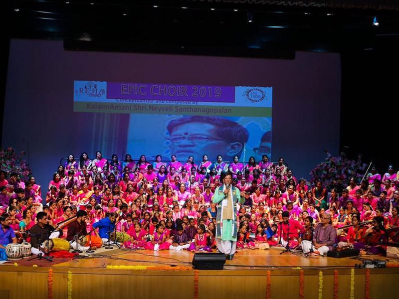 Carnatic Epic Choir