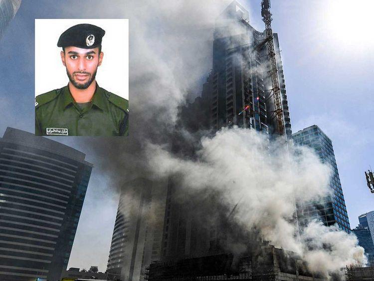 Firefighter dies