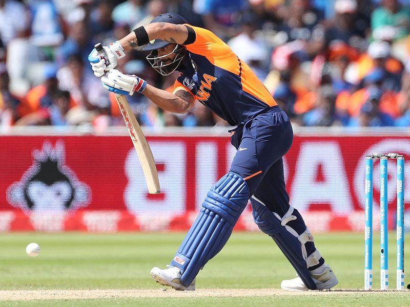 India's captain Virat Kohli bats