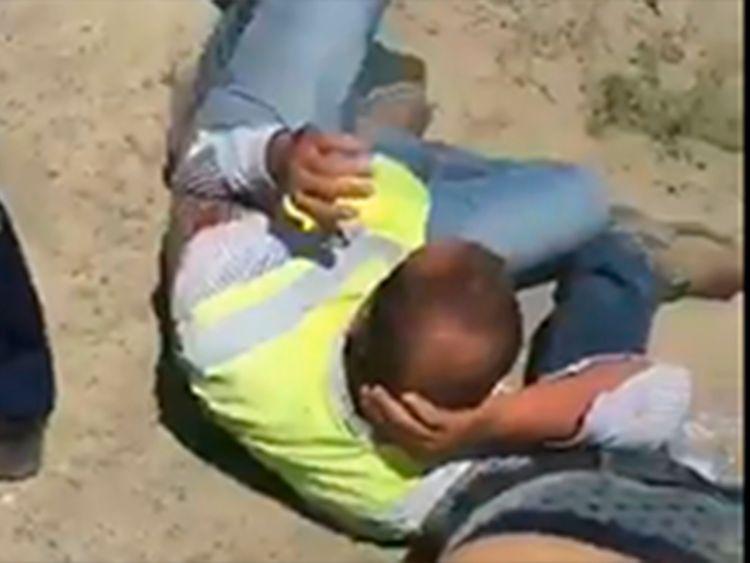 Video: Lebanese and Jordanian workers in Kazakhstan beaten