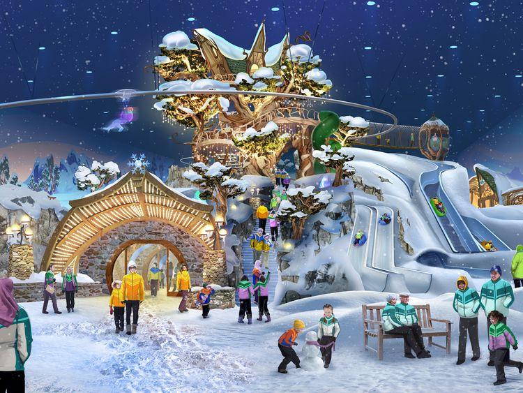 Snow Abu Dhabi