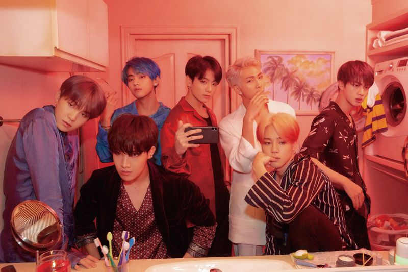 BTS - Image 3 Left to right - Suga, V, J-Hope, Jungkook, RM, Jimin and Jin.-1562044009533