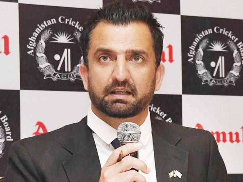 Afghanistan Cricket Board's CEO Asadullah Khan