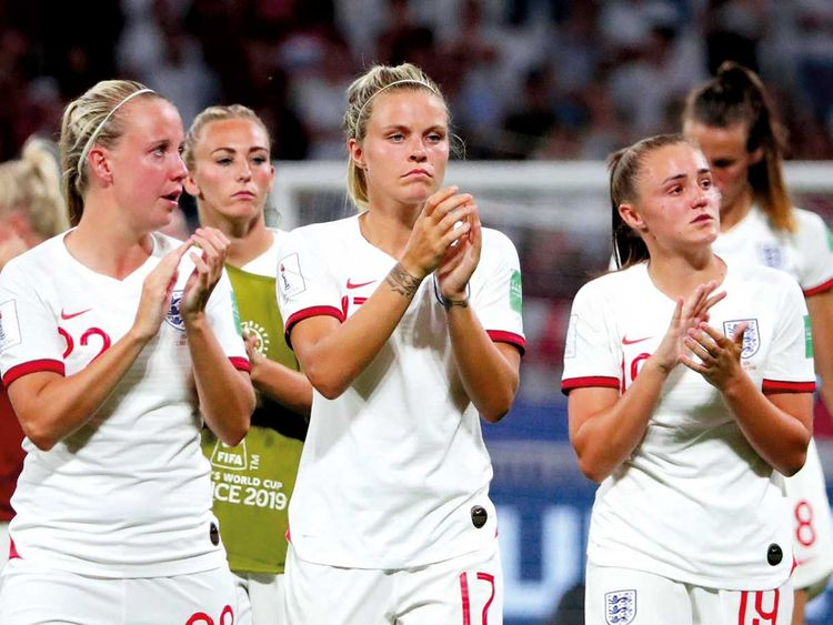 England's Rachel Daly