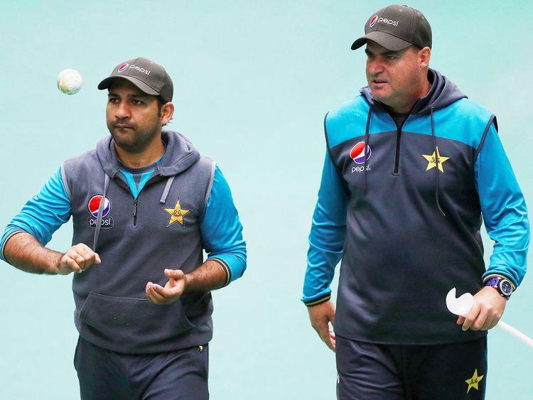 Mickey Arthur and skipper Sarfaraz Ahmad