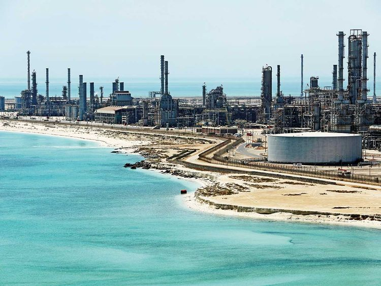 Saudi Aramco's Ras Tanura oil refinery and oil terminal