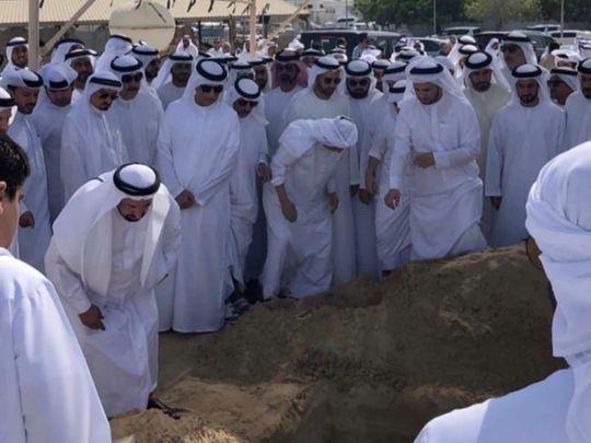Shaikh Khalid Bin Sultan Al Qasimi laid to rest