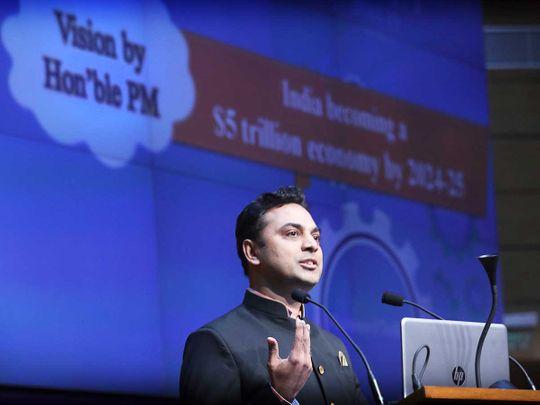 Indian Chief Economic Advisor K.V. Subramanianin
