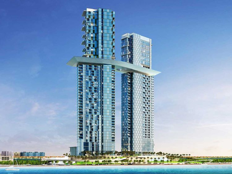 Palm360 twin-tower from Nakheel